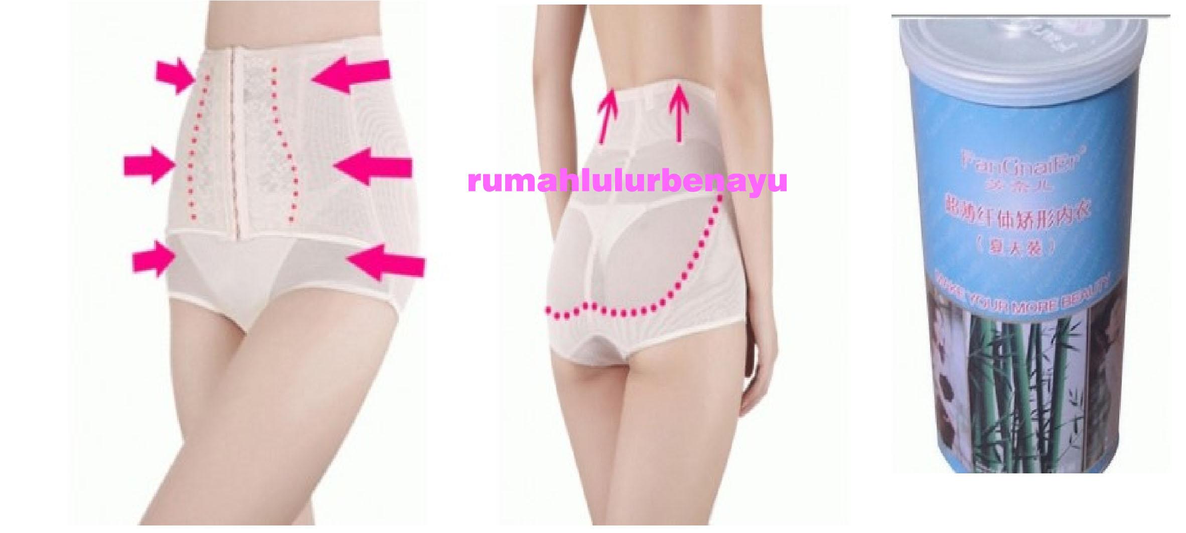 Welove Magic Bamboo Sliming Suit Pakaian Pelangsing Wanita Ukuran Bambo Natural Slimming Korset Pants